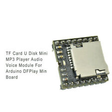 New TF Card U Disk Mini MP3 Player Audio Voice Module Arduino DFPlayer Board