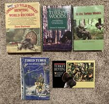 5 Wild Turkey Hunting Books Wiman Robinson Realtree Harbour Woods Tired Tubes