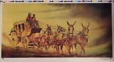 "William Verdult "" Stagecoach"" Limited Edition Lithograph, hand signed   w/COA"