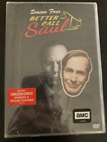 Better Call Saul Season 4 (DVD, 3-Disc Set) Free Shipping New & Sealed US Seller