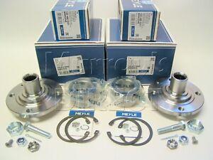 2 Meyle Front Hub Flange Wheel Bearing Kits VW Mk1 Golf 76-83 GTi & Convertible