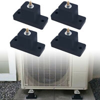 Rubber Vibration Isolator Mounting Brackets Fit For Mini Split Air Conditioner