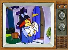 "WINSOME WITCH TV Fridge MAGNET  2"" x 3"" art SATURDAY MORNING CARTOONS"