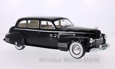 #190 - BoS Cadillac Fleetwood 75 Touring Sedan - schwarz - 1941 - 1:18