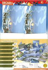Decadry SPZ 6393 Twilight Chrismas Make Your Own Greeting Cards
