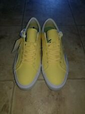 Converse x Chocolate Yellow Sneakers Brand New NWT Men's Size 9