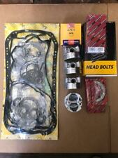 92-95 Honda 1.6 D16Y8 Full set Gasket,Bearings, Pistons & Ring Set Head bolts