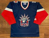 New York Rangers 1996-1998 Lady Liberty Third Jersey (Medium)