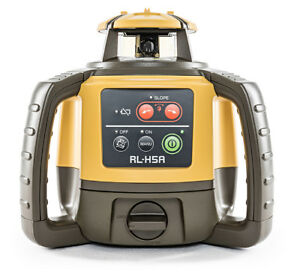 TOPCON RL-H5A LONG RANGE ROTATING LASER LEVEL WITH RECHARGEABLE BATTERY PACK