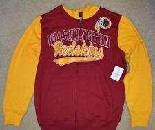 WASHINGTON REDSKINS OFFICIAL NFL GIII CONTRAST HOODIE   T-SHIRT COMBO-SIZE  L- 00726b009
