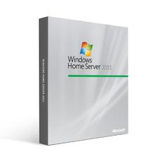Microsoft Windows Home Server 2011 64-bit - 1 Server, 10 CLT - OEM - Brand New