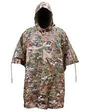 PRO Force IMPERMEABILE NYLON HMTC Camo Poncho Campeggio Militare MTP Esercito Basha