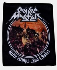 SAVAGE MASTER - With Whips And Chains  [Printed Patch]