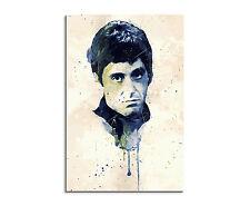 90x60cm PAUL SINUS Splash Art Kunstbild Al Pacino Scarface Geschenkidee