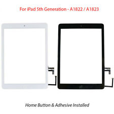 For 2017 iPad 5th Gen A1822/A1823 Touch Screen Digitizer Glass With Home Button