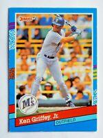 Ken Griffey,Jr.  #77 Donruss 1991 Baseball Card (Seattle Mariners) VG