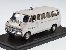 Neo Dodge Sportsman San Diego Police Ambulance 1973 1:43 46940