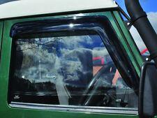 LAND ROVER DEFENDER 90 / 110 FRONT WINDOW WIND DEFLECTOR SET 2 PIECES DA6078