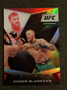 2021 Chronicles UFC Conor McGregor Black SP Red 20/149 MINT Welterweight 💎💎💎