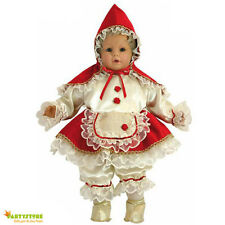 costume cappuccetto rosso bambini neonati 6 mesi travestimento vestito carnevale