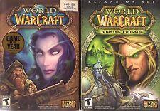World of Warcraft  Burning Crusade Battle Chest Game and Expansion Set