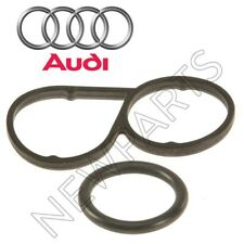 For Audi A6 Allroad Quattro S4 4.2L Set of Engine Oil Filter Housing & O-Ring