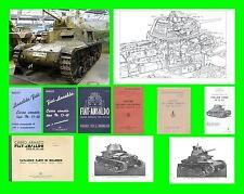 COLLECTION - CARRO ARMATO FIAT ANSALDO M13-40 ARMOURED TANK Manual - DVD