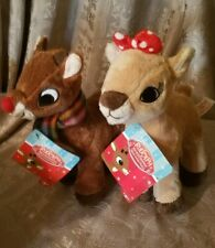 New w/ Tags Rudolph the Red Nosed Reindeer Christmas, Clarisse Plush Toy