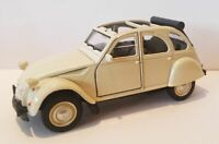 Citroen 2CV Classic Die Cast Model Car 1:38 Scale Collectors NEW