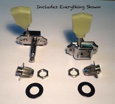 The String Butler - Vintage Adapter Kit 2 (Green Knobs, Black Washers)