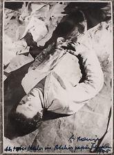Arnulf Rainer, S/W Photographie von 1955, handsigniert und datiert.