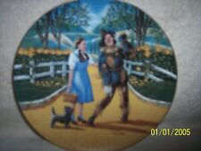 Scarecrows Don'T Talk, Plate 2, Knowles Wizard Of Oz Plate, Laslo, no box Neat