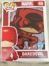 Pop! Marvel Tees Daredevil T-Shirt 45 Extra Large XL Target Exclusive Funko Gray