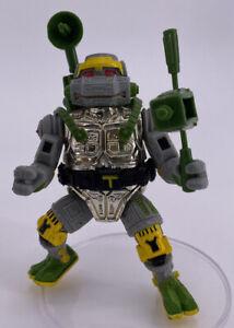 Vintage 1989 Teenage Mutant Ninja Turtles Figure Complete TMNT Metalhead Rare