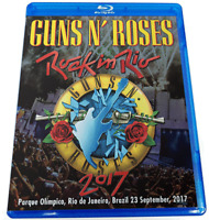 Guns N' Roses Rock In Rio 2017 Brazil Blu-ray 2 Discs Case Set  Music PRO shot