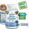 ADVANCED BRAIN BOOSTER Supplement Memory Focus Clarity Vitamins Nootropic Suppor