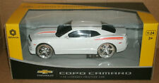 1/24 Scale 2012 Chevrolet COPO Camaro Plastic Model Coupe Braha 866-82410 White
