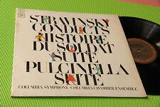 STRAVINSKY LP PULCINELLA SUITE ORIG USA '70 EX++ TOP CLASSICA