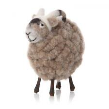 Woolly Grey Brown Standing Ram, Sheep Lover, Ornament, Giftware