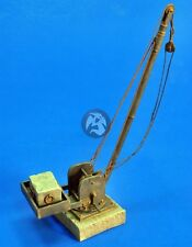 Verlinden 1/35 Harbour Dock / Train Station Crane [Resin Diorama Model kit] 2488