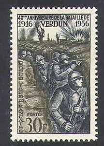 France 1956 Verdun/Military/Battles/Soldiers/Army/WWI/War/Animation 1v (n37133)