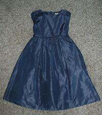 J Crew Crewcuts Collection Girls Grayson Silk Taffetta Dress Sz 5