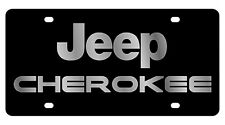 New Jeep Cherokee Logo Acrylic License Plate