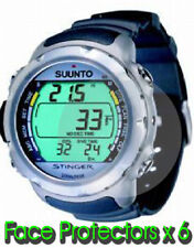 Suunto Stinger watch display face/glass protectors x 6