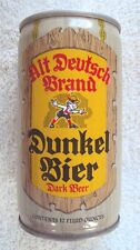 PITTSBURGH BREWING COMPANY * DUNKEL BIER * 12 oz beer can / IRON CITY BEER