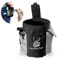 Mini Dog Treat Pouch Outdoor Pet Training Waist Bag Drawstring Carries Bag