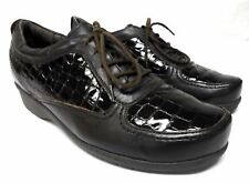 Orthaheel size 9.5-10 oxford comfort shoes lace up front luftpolster soles