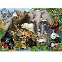1000 Piece Puzzles Animal world Jigsaw For Adults Kids Learning Education Tools