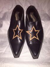 Sketchers Something Else Womens Slip On Heels Size 8.5 Black Nice Rare STAR