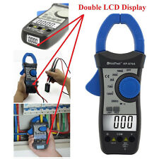 Digital Clamp Meter Multimeter Ammeter Auto Range Temperature  Diode Test Tester